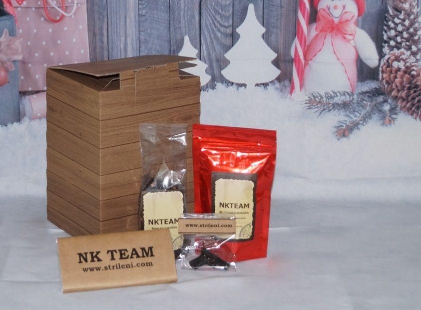 dárková bedna čaj a káva čokoláda